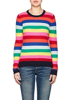 Barneys New York Women's Striped Cashmere Crewneck Sweater