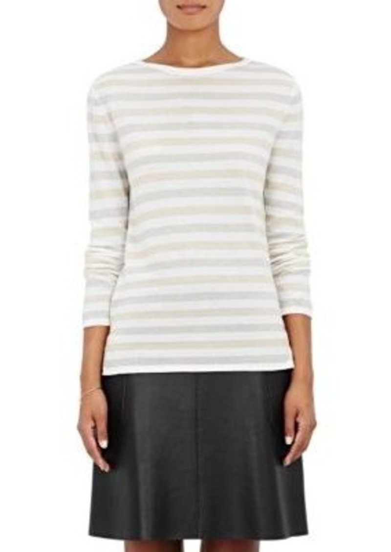 Barneys New York Barneys New York Women's Striped Cashmere Sweater ...
