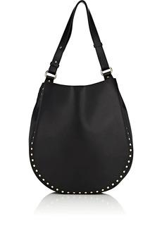 Barneys New York Women's Studded Hobo Bag - Black