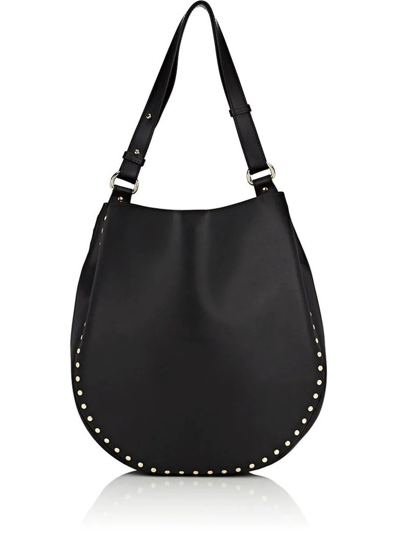 Barneys New York Women's Studded Hobo Bag - Black