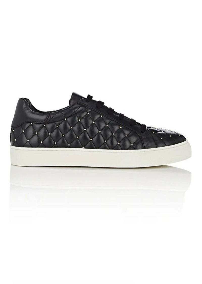 Barneys New York Women's Studded Leather Sneakers