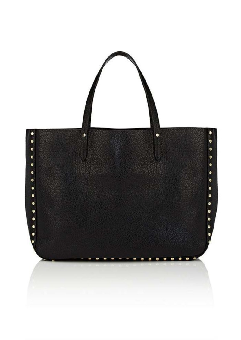 16c86c442f Barneys New York Barneys New York Women s Studded Leather Tote Bag ...