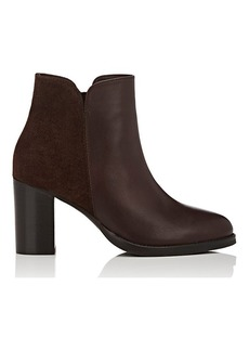 Barneys New York Women's Suede & Leather Ankle Boots