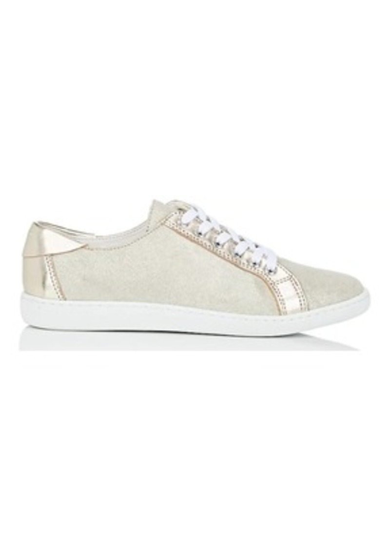 Barneys New York Women's Suede & Metallic Leather Sneakers