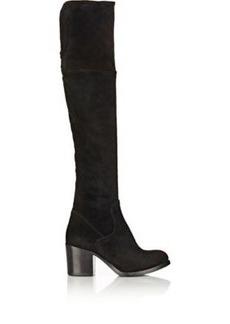 Barneys New York Women's Suede Brandy Over-The-Knee Boots