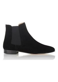 Barneys New York Women's Suede Chelsea Boots