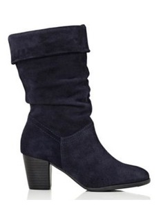 Barneys New York Women's Suede Cuffed Boots