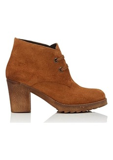 Barneys New York Women's Suede Desert Boots