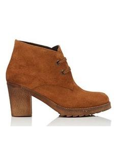 Barneys New York Women's Suede Desert Boots