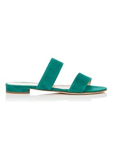 Barneys New York Women's Suede Double-Band Sandals