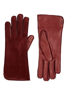 Barneys New York Women's Suede Gloves