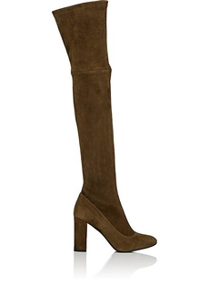 Barneys New York Women's Suede Knee Boots