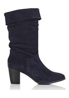 Barneys New York Women's Suede Mid-Calf Boots