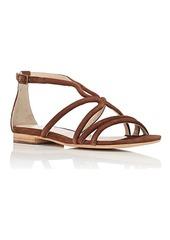 Barneys New York Women's Suede Multi-Strap Sandals
