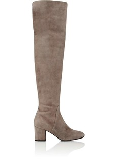 Barneys New York Women's Suede Over-The-Knee Boots