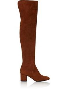 Barneys New York Women's Suede Over-The-Knee Boots