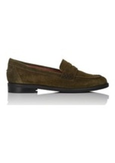 Barneys New York Women's Suede Penny Loafers