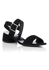Barneys New York Women's Suede Slingback Sandals