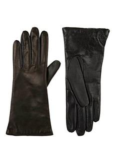 Barneys New York Women's Tech-Smart Leather Gloves