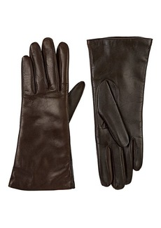 Barneys New York Women's Tech-Smart Leather Gloves