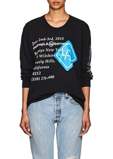 """Barneys New York Women's """"thedropLA"""" Cotton Oversized T-Shirt"""