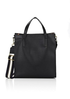 Barneys New York Women's Top-Zip Tote - Black