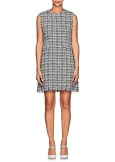 Barneys New York Women's Tweed Sleeveless Dress
