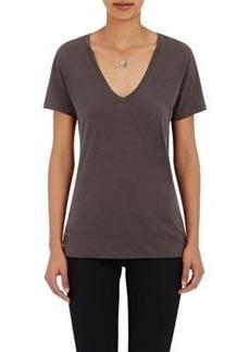 Barneys New York Women's V-Neck T-Shirt