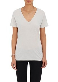 Barneys New York Women's V-Neck T-Shirt