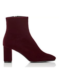 Barneys New York Women's Velvet Ankle Boots
