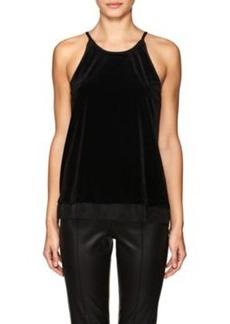Barneys New York Women's Velvet Blouse