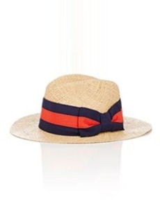 Barneys New York Women's Wide-Ribbon Straw Hat