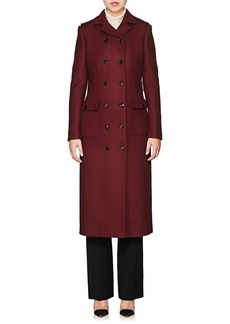 Barneys New York Women's Wool-Blend Double-Breasted Coat