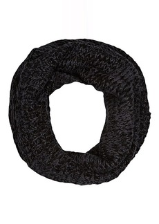 Barneys New York Women's Wool-Blend Infinity Scarf - Black