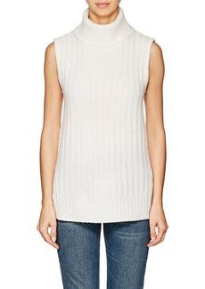 Barneys New York Women's Wool-Cashmere Sleeveless Turtleneck Sweater