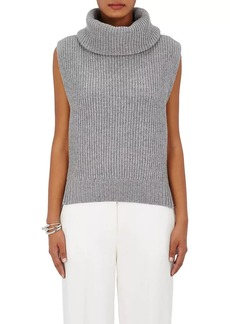 Barneys New York Women's Wool-Cashmere Turtleneck Vest