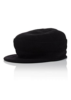 Barneys New York Women's Wool Conductor Hat - Black