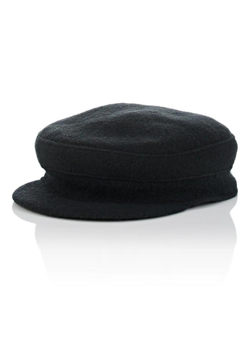 Barneys New York Women's Wool Conductor Hat - Green
