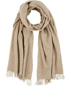 Barneys New York Women's Wool Scarf-Beige, Tan