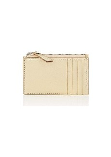 Barneys New York Women's Zip Card Case - Gold