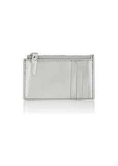 Barneys New York Women's Zip Card Case - Silver