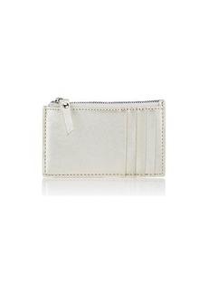 Barneys New York Women's Zip Card Case - Silver