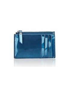Barneys New York Women's Zip Card Case - Blue