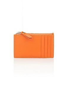 Barneys New York Women's Zip Card Case - Orange