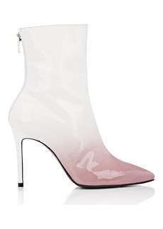 Barneys New York x Jordyn Woods Women's Dégradé Patent Leather Ankle Boots