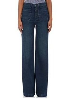 Barneys New York XO 3X1 Women's Redding Wide-Leg Jeans