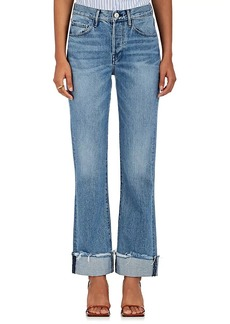 Barneys New York XO 3X1 Women's W4 Shelter Flare Crop Jeans