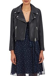 Barneys New York XO Jennifer Meyer Women's Crop Moto Jacket