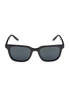 Barton Perreira 007 Joe 52MM Square Sunglasses