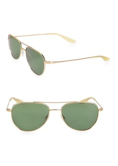 Barton Perreira Aerial 55MM Aviator Sunglasses